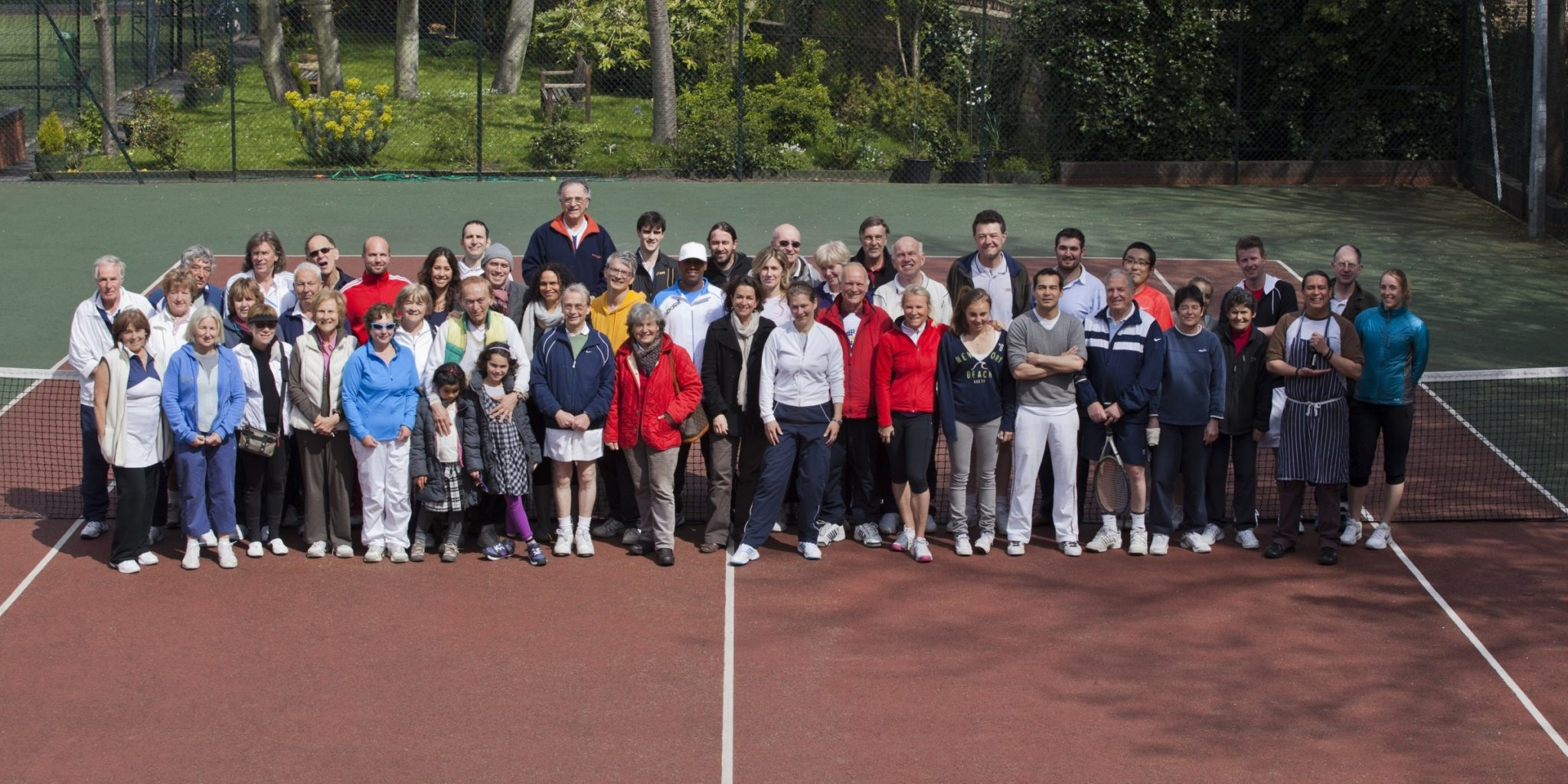 Globe Tennis Club - Group Pic